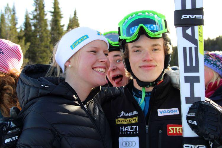 Lisa och Hannes